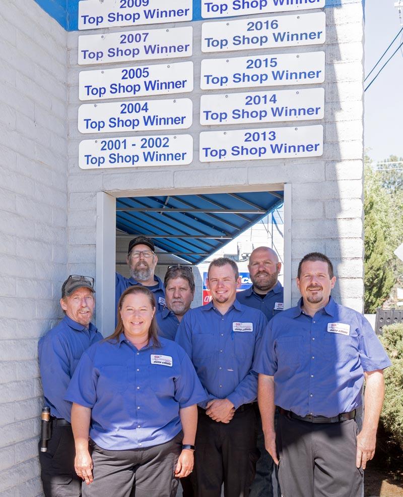 Jim's Auto Clinic Staff - Top Shop